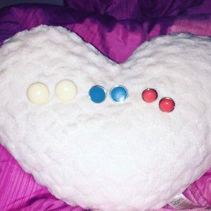 Paraorecchie multicolore Materiale sintetico