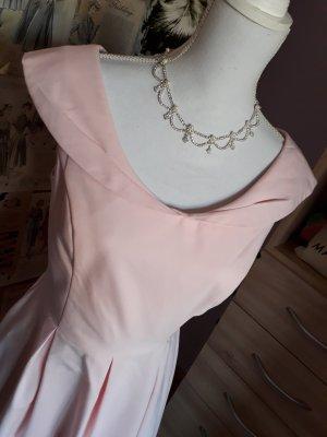 Orsay 1950er inspiriertes Rosa Abendkleid Gr. 36