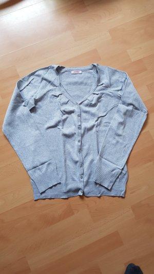 Orsay Cardigan light grey cotton