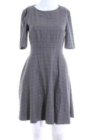 Orsay A-Linien Kleid hellgrau-blau Karomuster Business-Look