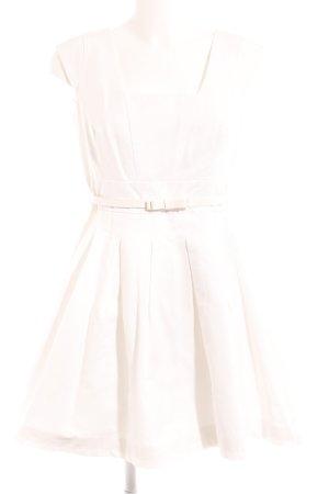 Orsay Abito linea A bianco stile classico