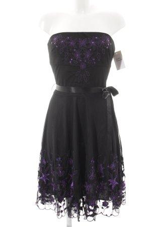 Orsay Abendkleid schwarz-lila Elegant