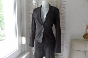 Orsay Pantalone da abito nero Tessuto misto