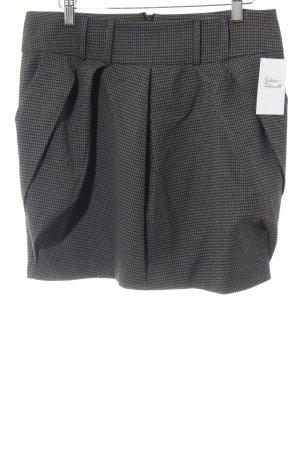 Orsay Jupe ballon noir-gris foncé motif à carreaux style mode des rues