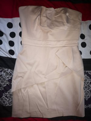 Orsay Bandeau Dress cream-beige