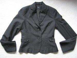 orsay blazer grau buero streifen gr. xs 34 neuwertig