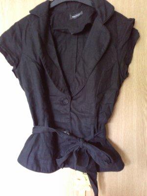 Orsay Blazer Leinen schwarz Gr. 34