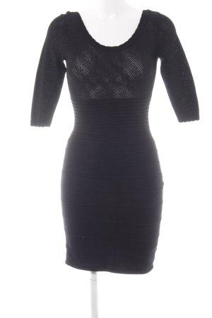 Orsay Bleistiftkleid schwarz Streifenmuster Elegant