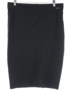 Orsay Bleistiftrock schwarz Punktemuster Business-Look