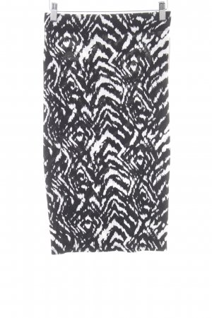 Orsay Bleistiftrock schwarz-weiß Animalmuster Casual-Look