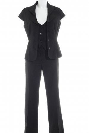 Orsay Business Suit black-white striped pattern business style