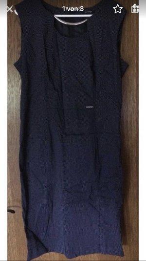 Orsay Business Kleid dunkelblau mit Punkte Muster 44 42 neu Hochzeit