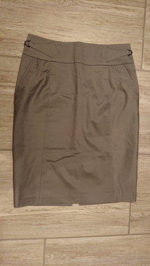 Orsay Falda de tubo gris Algodón