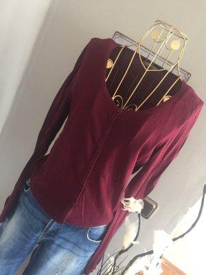 Orsay Knitted Cardigan bordeaux-carmine