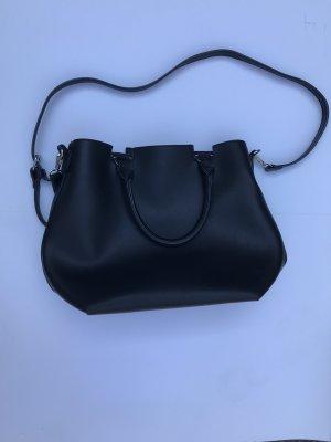 Orsay City-Bag in Lederoptik schwarz