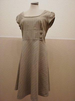 Orsay Etuikleid Kleid Gr. 40 neu beige silber metallic elegant festlich retro knielang Midikleid