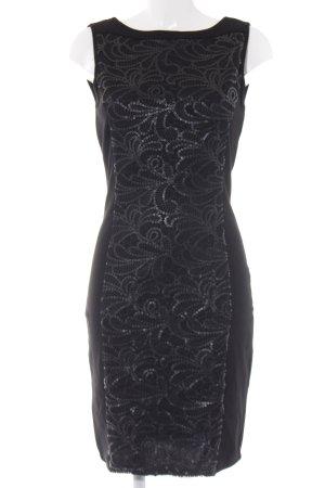 Orsay Etuikleid schwarz Ornamentenmuster Elegant