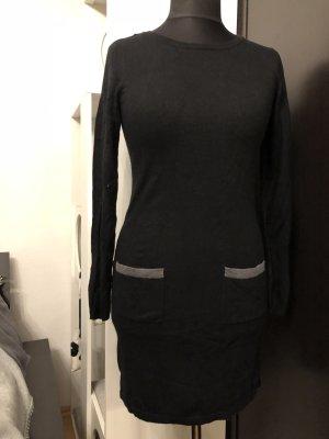 Orsay Feinstrickkleid schwarz/grau