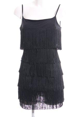 Orsay Robe à franges noir élégant