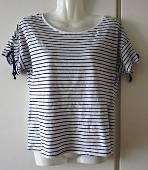 Orsay gestreiftes Shirt navy x weiß Sailor Marine style Gr. S/M (38) French Chic