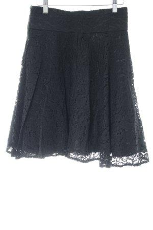 Orsay Glockenrock schwarz Gothic-Look