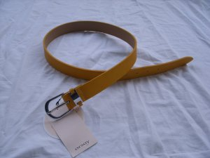 Orsay Gürtel gelb 75cm, XS, neu
