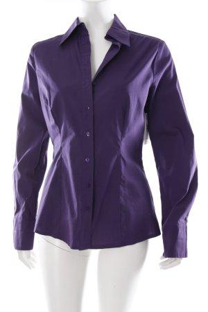 Orsay Hemd-Bluse dunkelviolett schlichter Stil