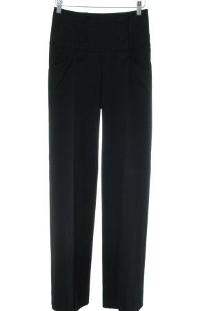 Orsay Pantalon taille haute noir style d'affaires