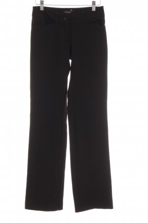 Orsay Low-Rise Trousers black business style