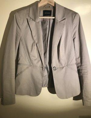 Orsay Blazer in maglia marrone-grigio-beige Cotone