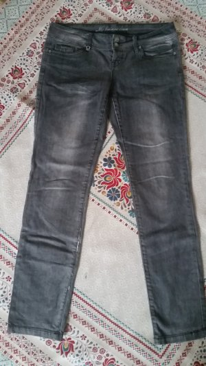 Orsay Jeans Bootcut - dunkelgrau