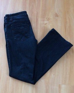 Orsay Jeans Hose Jeanshose schwarz Größe 36