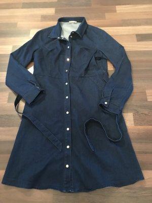 Orsay Vestido vaquero azul oscuro-azul