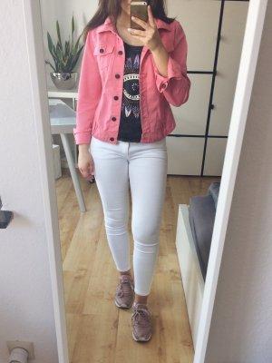 ORSAY Jeansjacke Jacke pink rosa Gr. 38