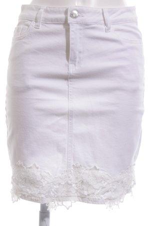 Orsay Gonna di jeans bianco stile semplice