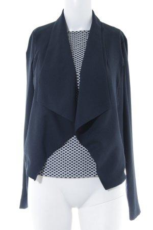 Orsay Twin Set tipo suéter dark blue-natural white graphic pattern elegant