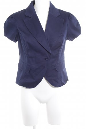 Orsay Jerseyblazer dunkelblau 60ies-Stil