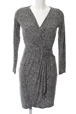 Orsay Jersey Dress light grey striped pattern casual look