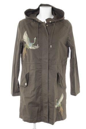 Orsay Manteau à capuche kaki style décontracté