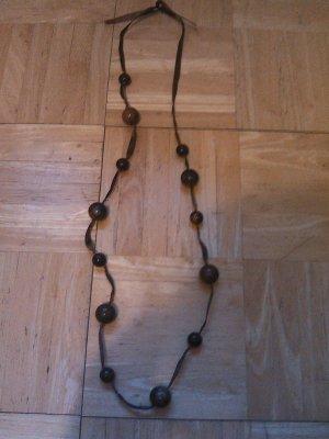 Orsay Kette mit braunen Perlen