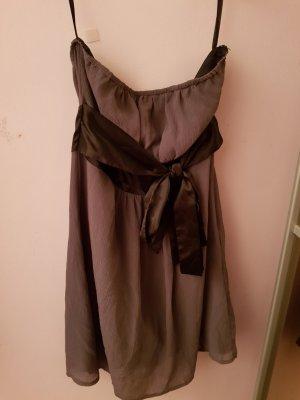 Orsay Off-The-Shoulder Dress grey
