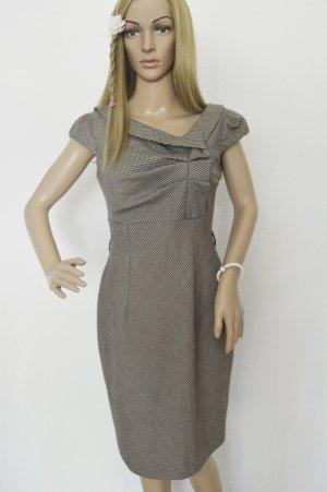 Orsay Kleid gr.38 mit feinem hahnentrittmuster