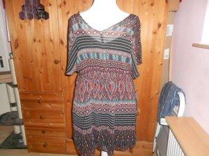 Orsay- Kleid mit Atztekenmuster Gr. 42