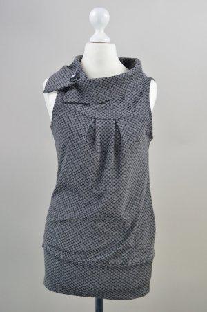 Orsay Kleid/Shirt mit Muster grau Größe XS