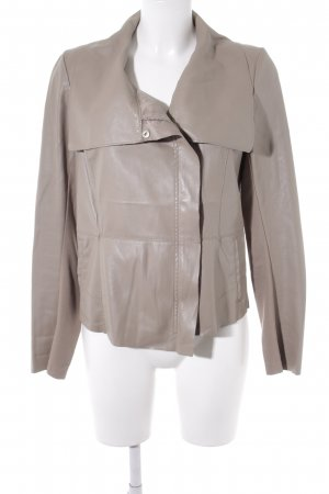 Orsay Faux Leather Jacket camel classic style