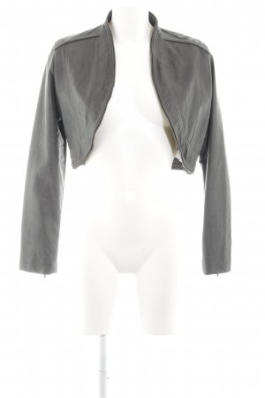 Orsay Faux Leather Jacket light grey casual look