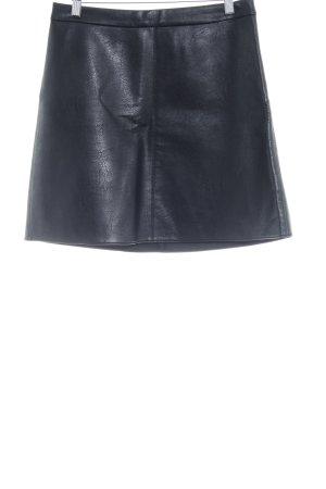 Orsay Kunstlederrock schwarz minimalistischer Stil