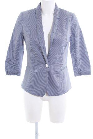 Orsay Kurz-Blazer blau-weiß Streifenmuster Casual-Look