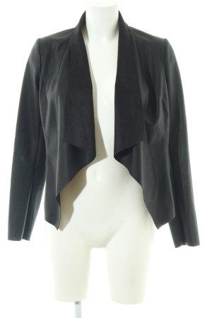 Orsay Kurz-Blazer schwarz Casual-Look