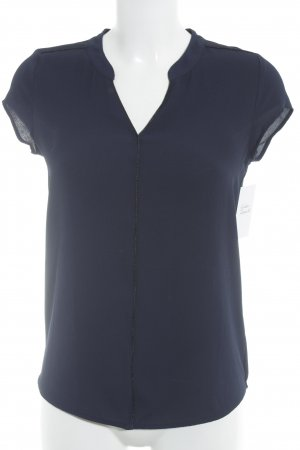 Orsay Kurzarm-Bluse dunkelblau Casual-Look